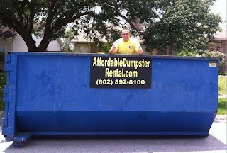 rent a roll off dumpster in phoenix